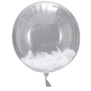 BB-310 Feather Filled Orb Balloon – Cut Out