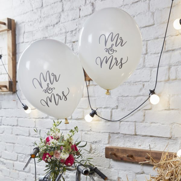 BH-716 Balloons – Mr and Mrs (1)