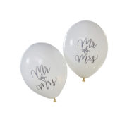 BH-716 Balloons – Mr and Mrs – Cut Out