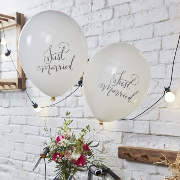 BH-717 Balloons – Just Married