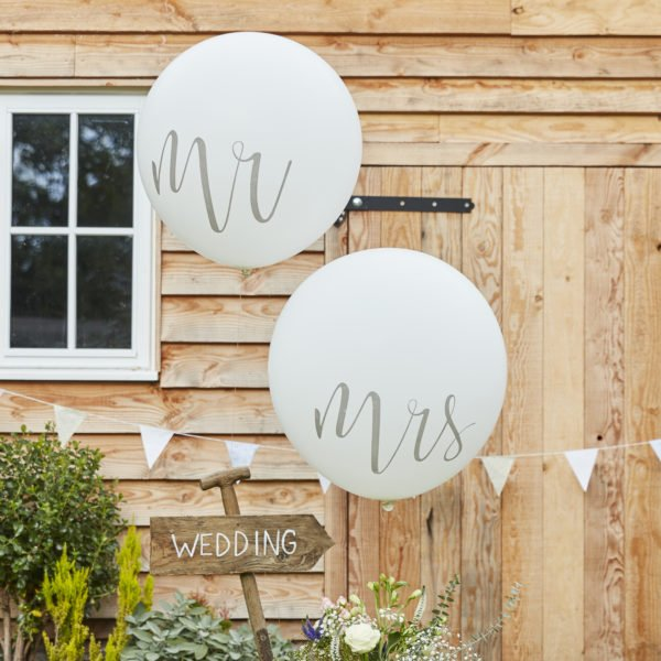 CW-218 Giant Mr & Mrs Balloons