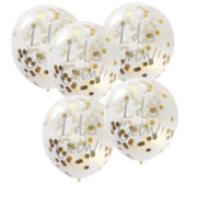 ID-403 I Do Crew Gold Confetti Balloons – Cut Out
