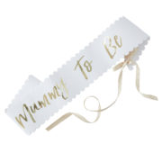 OB-114 Mummy to Be Sash – Cutout