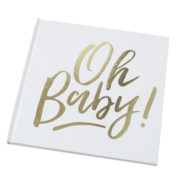 OB-128 Oh Baby Guestbook – Cutout