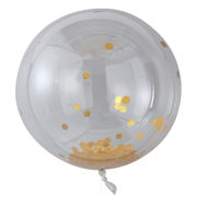 PM-388 Giant Gold Confetti Orb Balloon – Cut Out