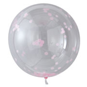 PM-389 Giant Pink Confetti Orb Balloon – Cut Out