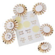 OB-113 Baby Shower Badge Kit – Cut Out