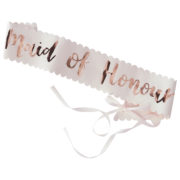 TB-621 Maid of Honour Sash – Cut Out