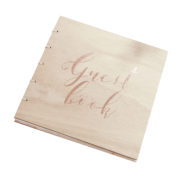 BB-280 – Wooden Guest Book – Cut Out