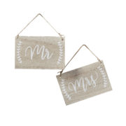 BH-733 Mr And Mrs Signs Chairs – Cutout