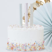 PM-426 Pastel & Gold Cake Fountain