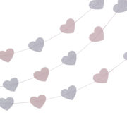 PR-510 Princess Heart Garland – Cut Out
