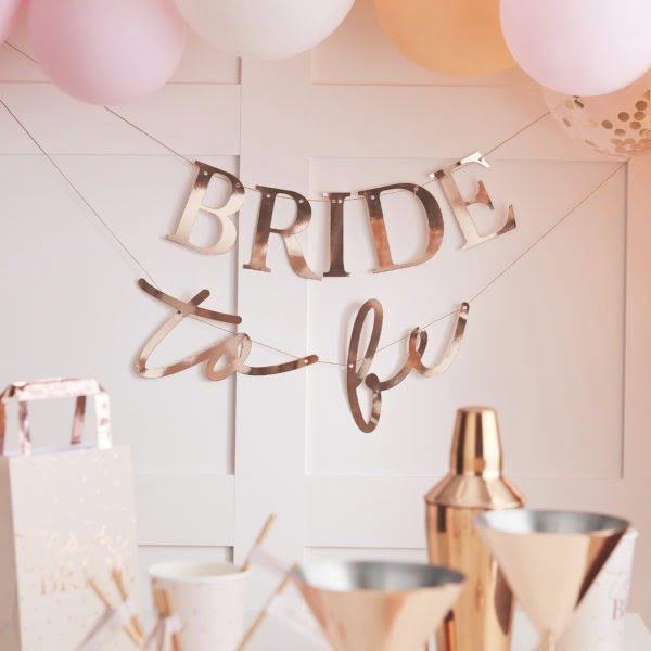 HN-812 Bride To Be Bunting